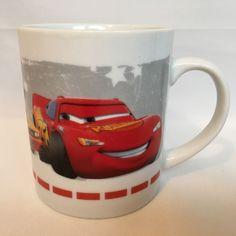 Disney Cars Lightening McQueen Snotrod Mug Movie Tea Cup Pixar Movie Ceramic #DisneyPixar