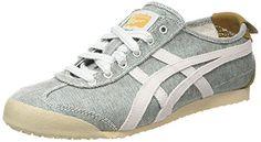 ASICS Mexico 66, Unisex-Erwachsene Sneakers, Grün (geeen/soft Grey 8410), 42 EU - http://on-line-kaufen.de/asics/42-eu-asics-mexico-66-unisex-erwachsene-sneaker-4