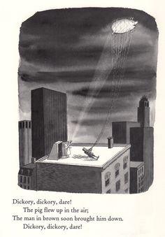 Charles Addams Illustrates Mother Goose, 1967 | Brain Pickings