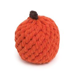 Grriggles 3-1/4-Inch Rope Fruit Crew Dog Toy, Orange ** Don't get left behind, see this great  product (This is an amazon affiliate link. I may earn commission from it)
