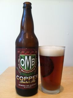 """Old Meck Brewery Copper Ale is an authentic Düsseldorf style """"Altbier."""