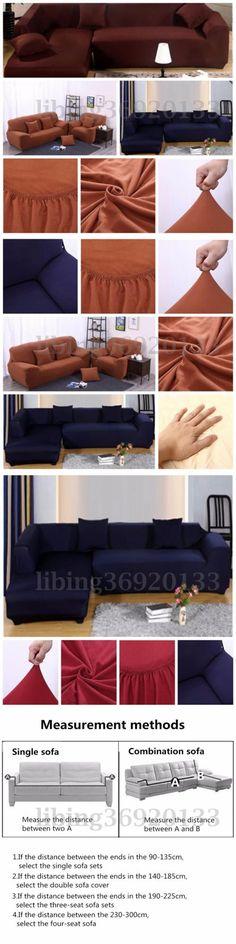 Geometric pattern design triangle stretch elastic fabric sofa