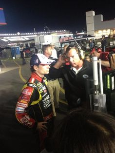 from Chris Clark  Jeff Gordon OK after the crash here at the Coke 600 #wcnc #nascar