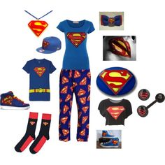 """""""Superman Outfit!"""" by neveon-brothe on Polyvore"""