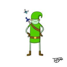 Adventure Time Link - TanBurn