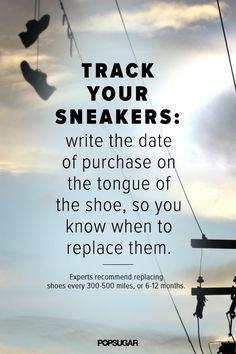 A Running Shoe Habit That Helps Prevent Shin Splints