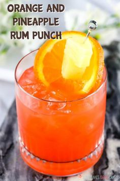 This Orange and Pineapple Rum Punch is the perfect adults-only refreshment on a hot summer day! Let the tropical flavors melt the stress away! Orange and Pineapple Rum Punch --- PIN THIS RECIPE --- I Summer Drinks, Cocktail Drinks, Fun Drinks, Cocktail Recipes, Alcoholic Drinks, Hard Drinks, Fruity Cocktails, Bourbon Drinks, Alcohol Drink Recipes
