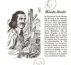 Louis Houde  – Houle - Source: Les anciennes familles du Québec,Brasserie Labatt limitée, La Brasserie–Québec (Province)–159 pages Famille La SalleFamille Fleury Family Roots, Genealogy Research, First Nations, Native American Indians, Ancestry, Family History, France 2, Canada, Family Trees