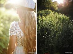 Magic evening and backlight - graduate portrait from Sweden