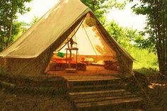 Hot Spots for Global Glamping   Beautiful Bell Tent (Vale, Arcos de Valdez, Portugal)