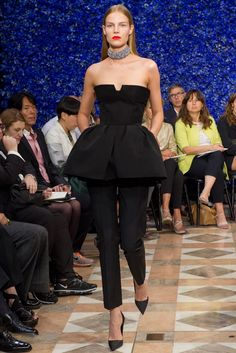 Christian Dior Fall 2012 Couture Fashion Show - Suvi Koponen (Next)