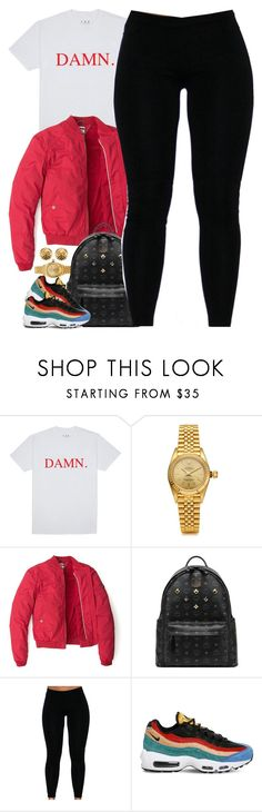 """""""Untitled #1641"""" by power-beauty ❤ liked on Polyvore featuring Rolex, Tommy Hilfiger, MCM, NIKE and Chanel"""
