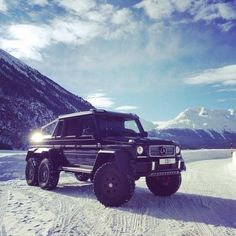 Beasts on Wheels, a Mercedes AMG G63 6x6 G Wagon
