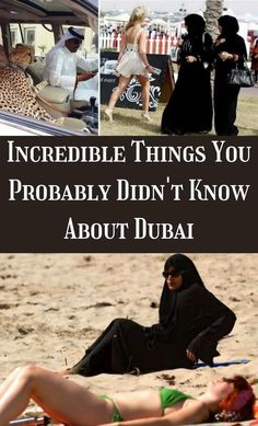 Dubai is a multi-ethnic city with around 6 million people. The growth rate of Dubai has shown a vast increase since the 1990s, and it displays no signs of stopping anytime soon. #Incredible #Probably #Dubai