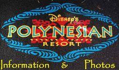 Disney's Polynesian Village Resort (Disney World) photos & information at http://www.buildabettermousetrip.com/disneys-polynesian-resort