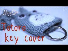 토토로 키 커버 자습서를 코바늘로 뜨개질하는 방법 - YouTube