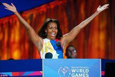 Michelle Obama. Check the armpits. Horrific. Tasteless.