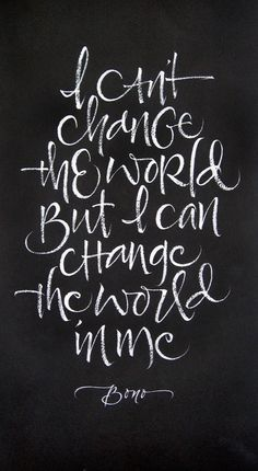 Change The World by Julie Wildman. pinned with #Bazaart - www.bazaart.me