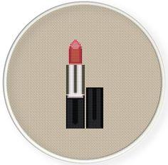 Instant Download,Free shipping,Cross stitch pattern, Cross-StitchPDF,lipstick,be beautiful,zxxc0591