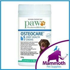 PAW Osteocare Joint Supplement Chews