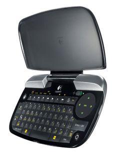 Logitech Mini Controller for Logitech Revue and Google TV.