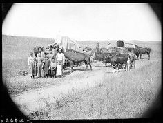 Prairie Settlement | Pioneers  Emigrants, Custer County, Nebraska, 1886