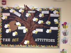 Beatitudes bulletin board