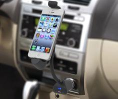 Car Cigarette Lighter Mount Holder USB Charger Adapter for iPhone 6 plus 5s 5c 5 #UnbrandedGeneric