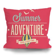 Cushion Cover SUMMER GOOD TIME by Sticky!!!