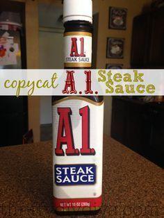 + Steak Sauce Recipes on Pinterest | Homemade Steak Sauces, A1 Steak ...
