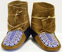 89 Best Mountain Man Moccasins Images Shoes Boots Handicraft