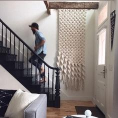 Beautiful Wall Hanging Macrame Idea (36)