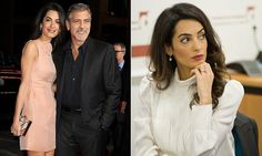 Amal Clooney ditches £450k engagement ring while she's working
