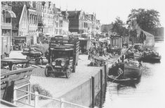 1935: Damsterdiep, Groningen The Old Days, Bastille, Vintage Photography, Children Photography, Netherlands, Holland, Dutch, Past, Old Things