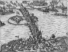 The battle of Giurgiu - 1595