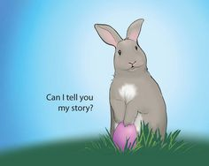 The #EasterBunny would like to tell you about his amazing day with Jesus. #Lent #Easter