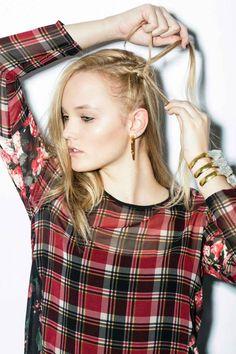 Punk Beauty Tutorial - Edgy Hair, Makeup Looks