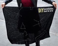 How to Make a Constellation Scarf | Scarves.net