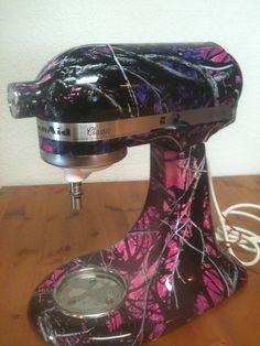 Purple mud girl mixer