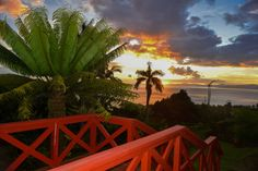 This just-refurbished 2 bedroom home is a tropical gardeners dream with landscaped grounds and abundance of trees, shrubs and flowers. A fantastic location with great views and just 5 minutes walk to the amenities of Taveuni Dive Resort. #noblerealty