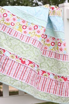 How to make a Rag Quilt – simple and easy.   eHow