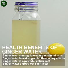 health detox Ginger water can be easily made at home and is a convenient way of consuming ginger for its potential health benefits. People have used ginger for thousands of years, as both a flavoring in foods and a natural remedy ! Ginger Water Benefits, Ginger Detox Water, Simple Detox Water, Benefits Of Detox Water, Health Benefits Of Tea, Kidney Detox Water, Benifits Of Ginger, Detox Water For Acne, Herbs