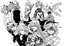 Meliodas × Dragon's Sibs of Wrath Otaku Anime, Anime Guys, Manga Anime, Anime Art, Seven Deadly Sins Anime, 7 Deadly Sins, Demon King Anime, League Of Legends, Meliodas And Elizabeth