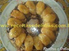 Receita de Pudim com sobras de bolo e bananas - pudim. Regar com a calda do cozimento das bananas. Receita extraida do site www.receitasedelicias.com.br ...                                                                                                                                                                                 Mais