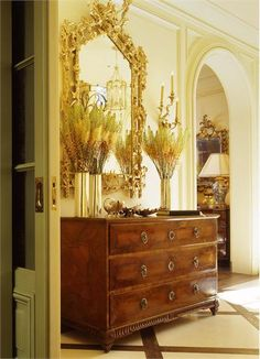 Elegant Traditional Foyer by Suzanne Tucker