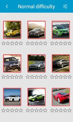 The Sliding Puzzle - Cars – snímka obrazovky