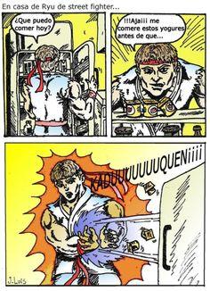 La nevera de #Ryu. #StreetFighter