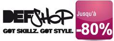 Les tendances Streetwear d'été en solde jusqu'à -80% chez DEFShop