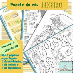 janeiro pack- atividades para imprimir GRÁTIS