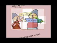 liedje dagen van de week 3ks video imoschool 2014 - YouTube